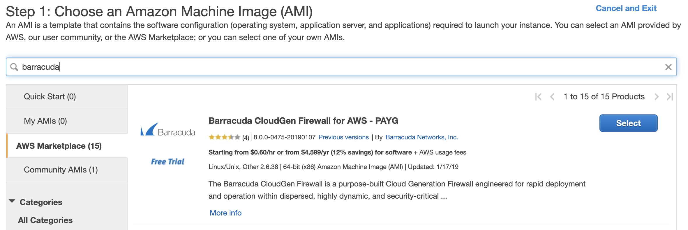 Example Config for Checkpoint VM in AWS — aviatrix_docs