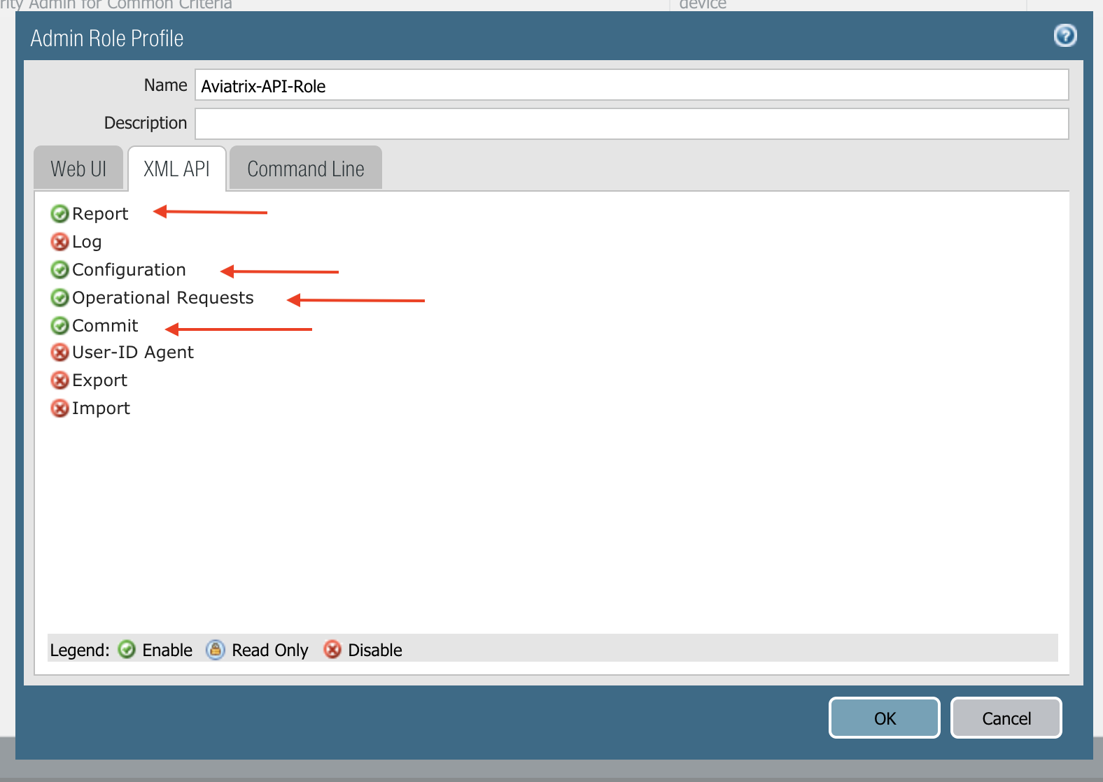 Setup API Access to Palo Alto Networks VM-Series — aviatrix_docs